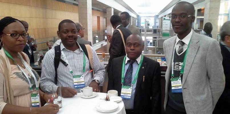 Congrès mondial de Néphrologie en République sud africaine 2015.