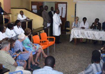 Inauguration de l'Unité de Dialyse Péritonéale Pédiatrique aux CUK