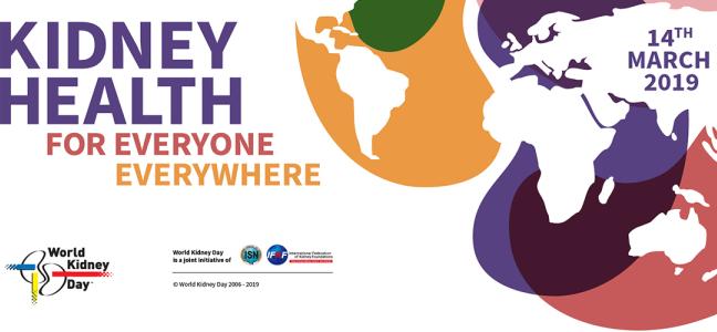 La Journée Mondiale Du Rein ce 14 mars 2019 aux Cliniques Universitaires de Kinshasa